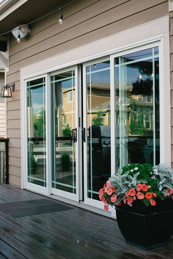 Sliding French Doors Covered Patios For The And Decks