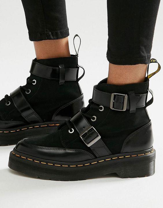 Image 1 ofDr Martens Masha Creeper Boots