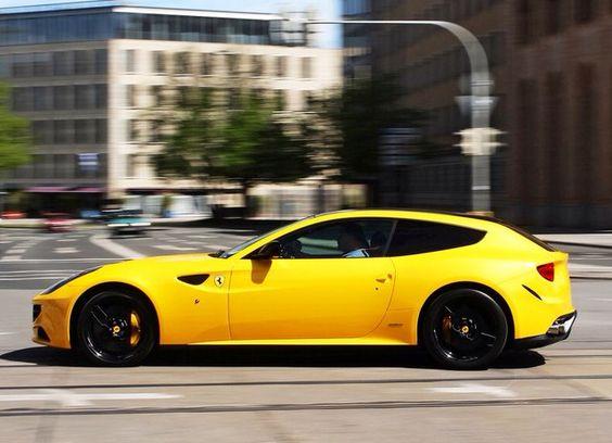 Yellow – Ferrari FF