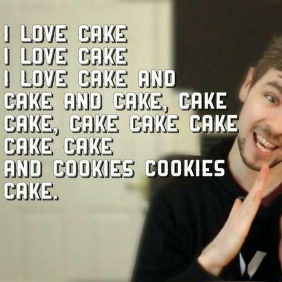 Jacksepticeye cake's song