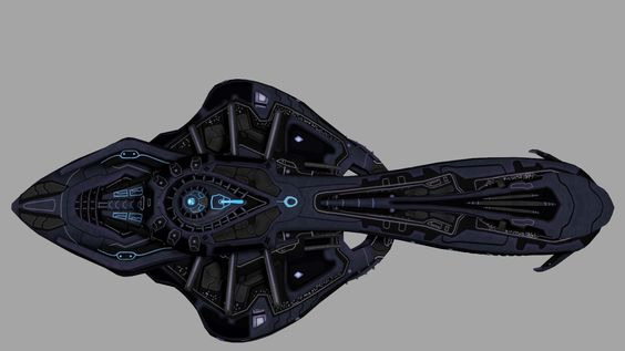 ArtStation - Sins of the Prophets: Covenant ORS-class heavy cruiser (re-texture), Jared Harris