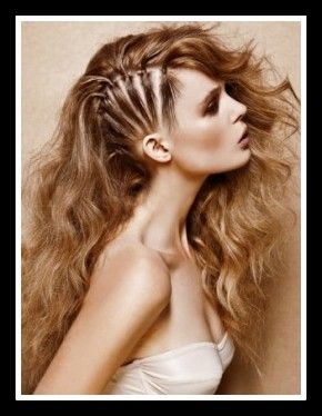 glam rock hairstyles long | Perfect Mix of Edge and Glam