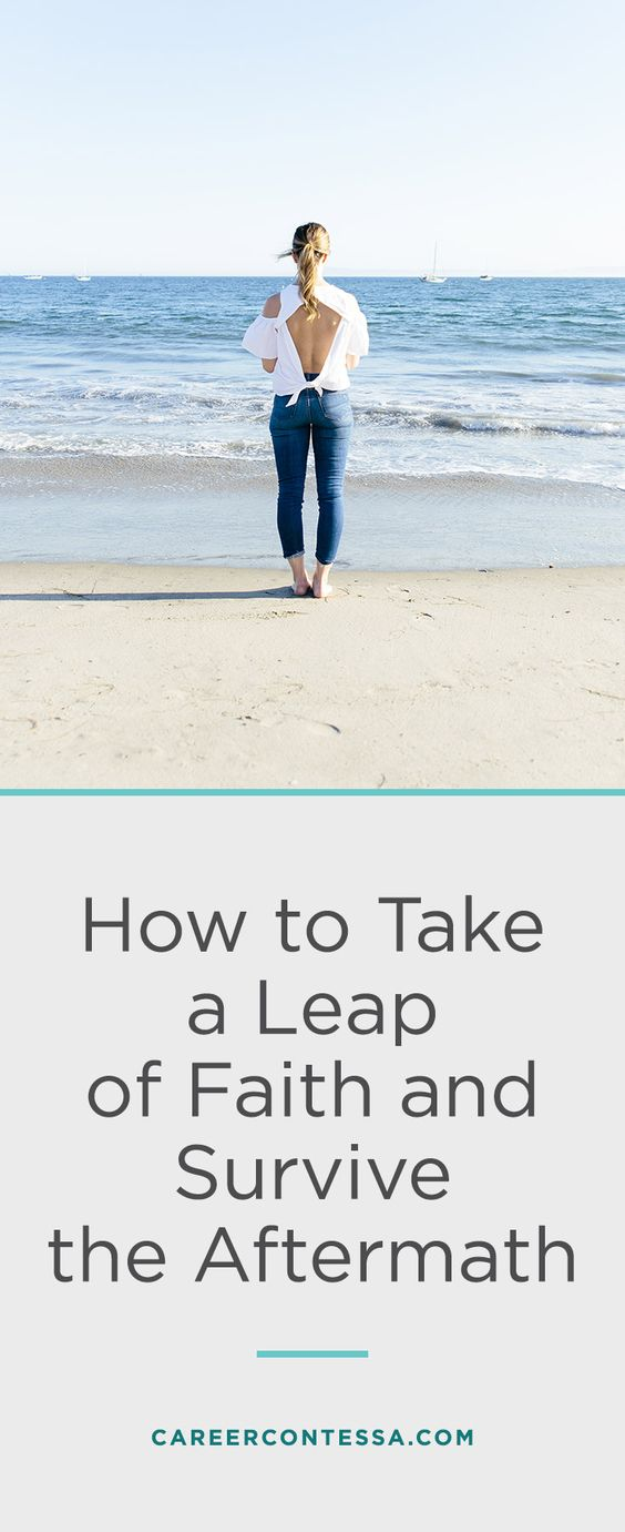 On Quitting My Job Without A Plan (And The Resulting Mess) Leap   Great