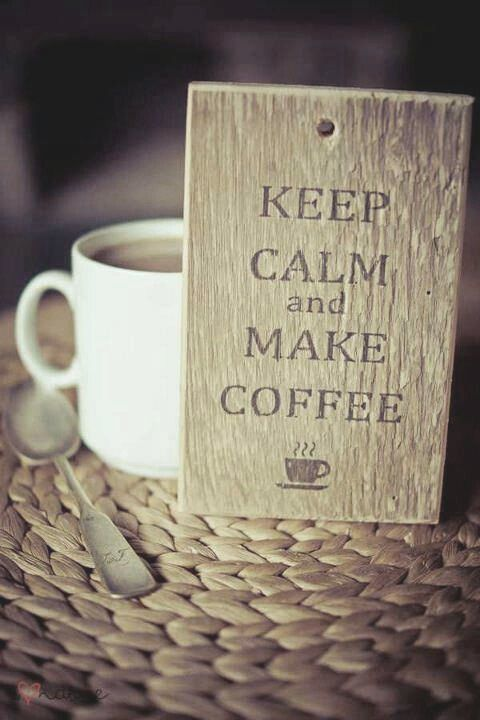 Coffee can calm you