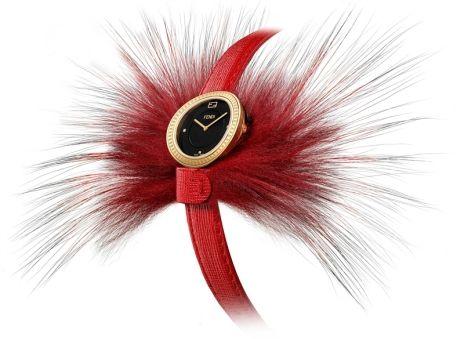 Fendi My Way Watch in Red