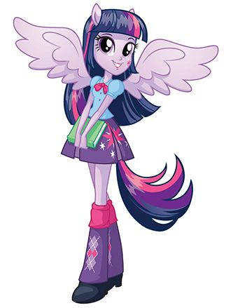 Princess Twilight Sparkle In My Little Pony Equestria