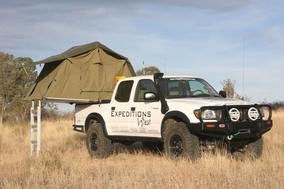Expeditions West: 2004 Tacoma Double Cab, 255/85 R16, Deaver, Donahoe, Demello