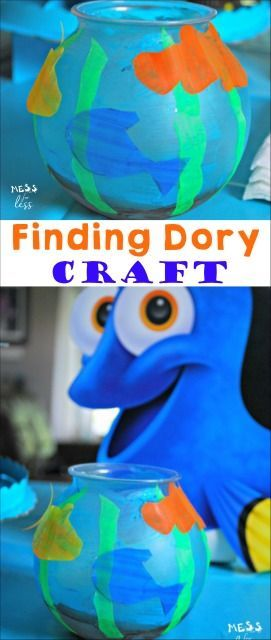Finding dory craft crafts activities and the o 39 jays for Finding dory crafts for preschoolers