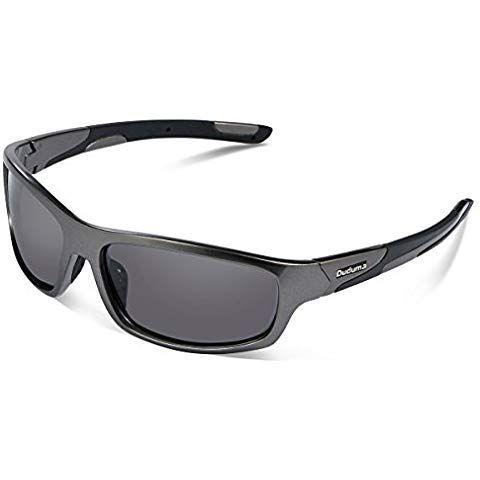 Duduma Gafas De Sol Deportivas Polarizadas Perfectas Para Esquiar Golf Correr Ciclismo Con El Marco Irrompible Du645 Gafas De Sol Deportivas Lentes Negros Moda