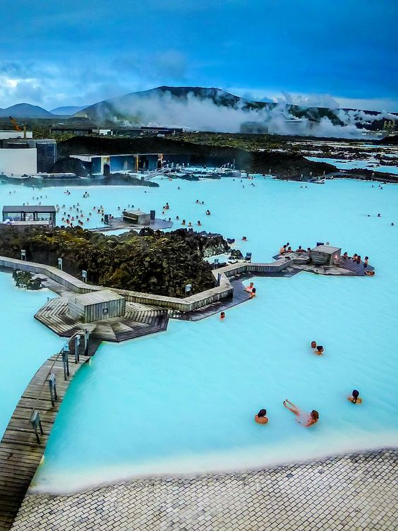 Kék Lagúna, Izland