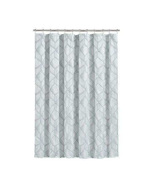 J Queen New York Horizons Shower Curtain Reviews Shower Curtains Bed Bath Macy S J Queen New York Queens New York Curtains