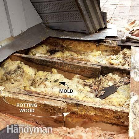 how to repair roof leaks