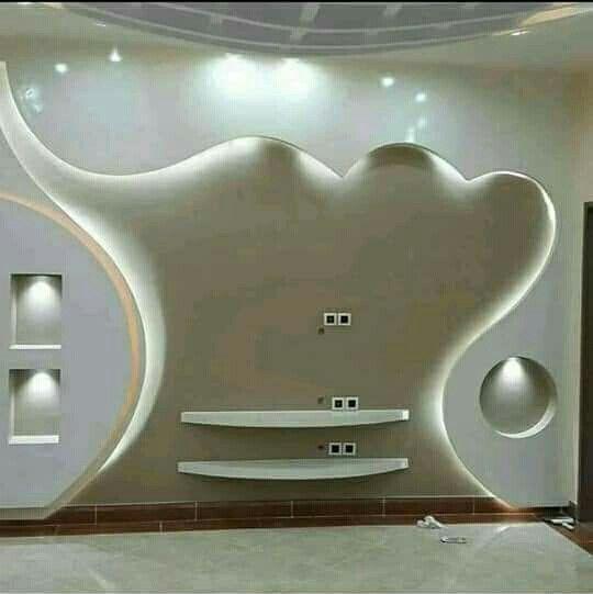 Ahmad Shradgah Tv Wall Design Wall Tv Unit Design Wall Unit Designs