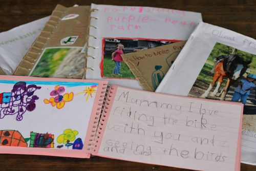 Literacy Learning Through Creating Books of Their Own