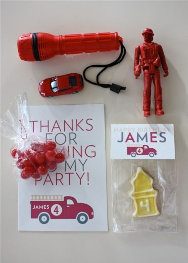 how to make labels for party favors