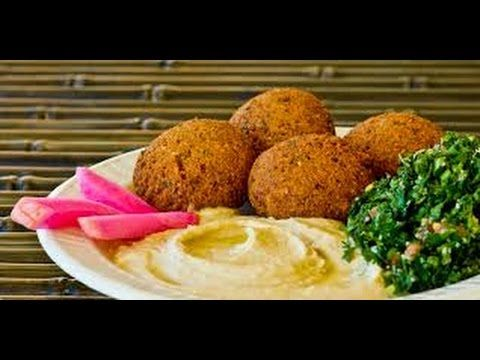 how to make falafel at home | Delicious Arabic falafel recipe | Healthy ...