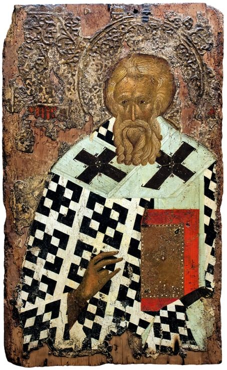 Icon of St. Methodius the Confessor, Patriarch of Constantinople