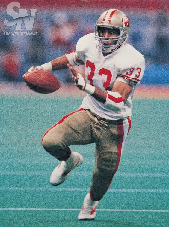 July 10, 1960 Roger Craig was born. San Francisco 49ers Roger Craig against Denver Broncos in Super Bowl 24 at the Louisiana SuperdomeJan 28, 1980.(Rich Pilling/Sporting News)