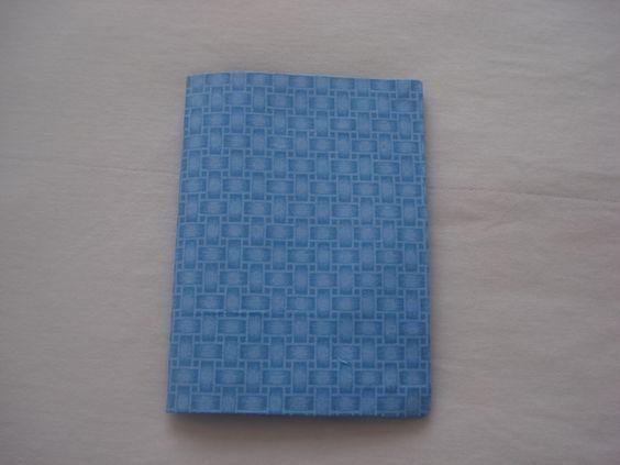 caderneta de anotações. fechada.