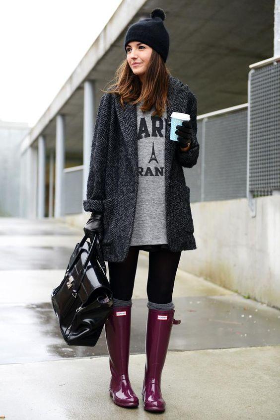 Parce que les bottes de pluie sont maintenant de réels accessoires mode : voici comment les agencer!