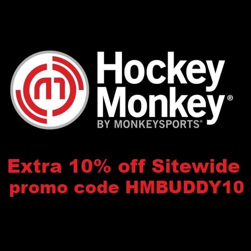 Hockey Monkey Coupon 10 Off Sitewide Code Hmbuddy10 In 2020 Baseball Monkey Sitewide Goalie