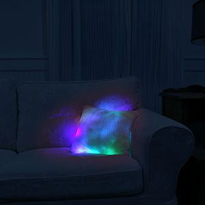ThinkGeek :: Glowing Moonlight Cushion $29.99  http://www.thinkgeek.com/product/e89e/