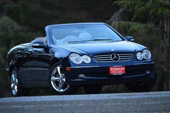 Convertible 2005 Mercedes Benz Clk 320 Cabriolet With 2 Door In San Mateo Ca 94403 Mercedes Benz Cabriolets Mercedes