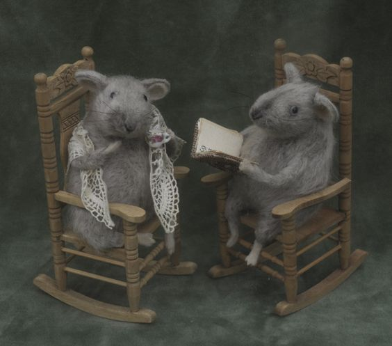 old rats reading books