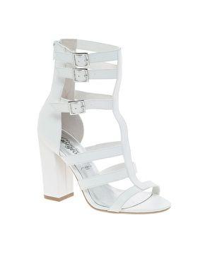 white gladiator heels | Shoes! | Pinterest | ASOS Heeled sandals
