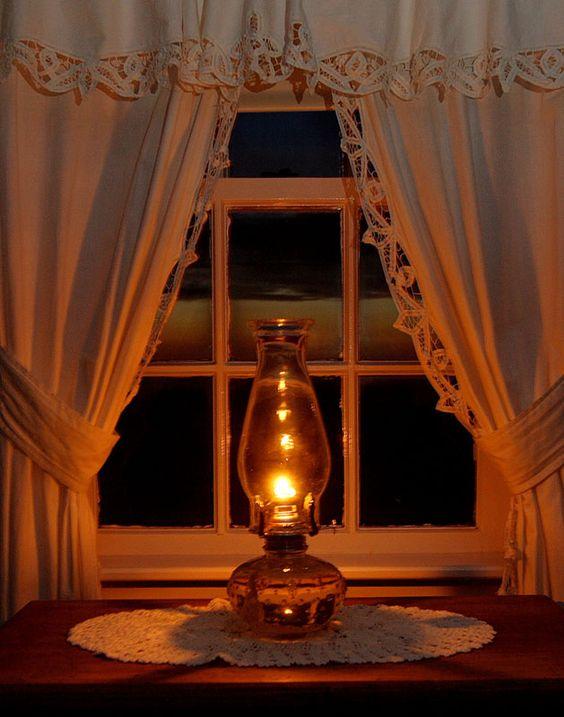 oil lamp: