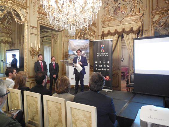 """Presentación """"Zamora, Paisajes con Sabor"""". Madrid, 24 de junio de 2014.  Más información en www.turismoenzamora.es"""