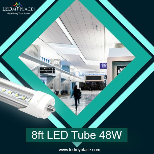8ft 48w Led Tube Start Via An On Off Switch Without Producing Any Kind Of Flickering Or Buzzing Sound Unlike The Sounds Produced B Led Tube Light Led Tubes Led