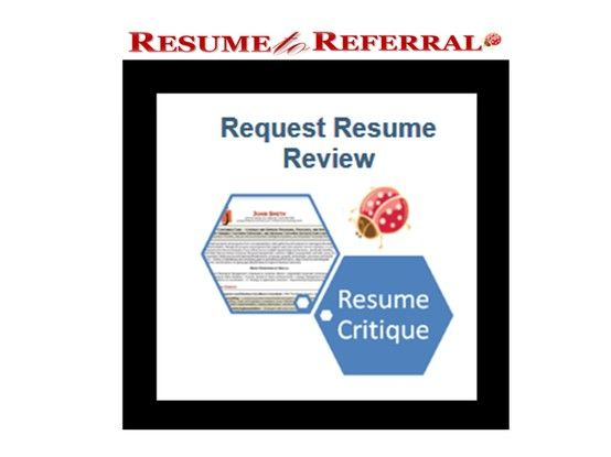 Free Resume Critique Service by Highly Endorsed Resume Firm   - resume critique free