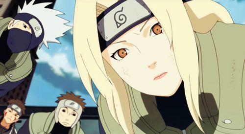 Naruto Kakashi Dies tsunade | Tumblr | Nar...