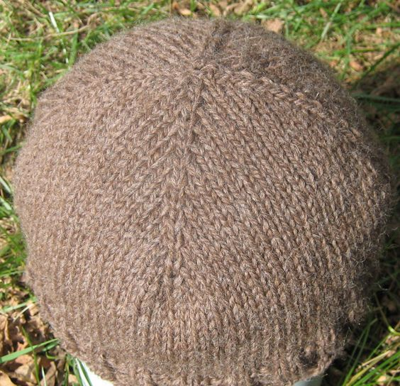 Top down knit hat! Is now my favorite hat pattern! knitting Pinterest F...
