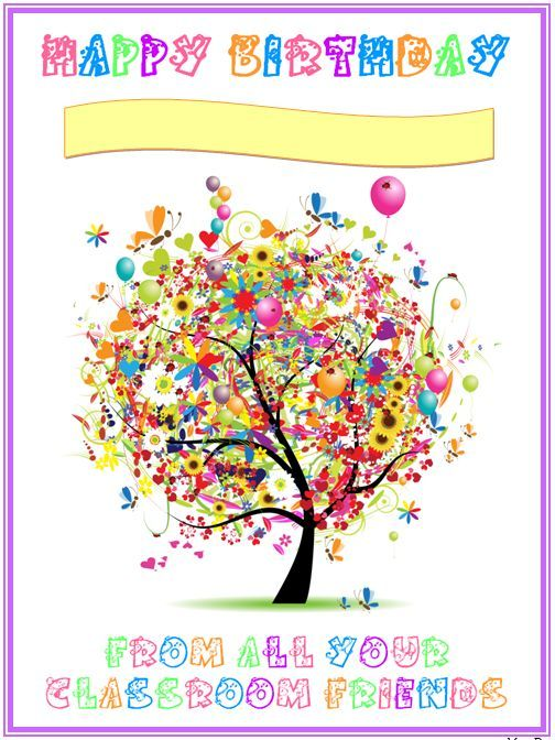 Happy Birthday Certificate Free Classroom Printables Pinterest   Certificate  In Word  Happy Birthday Certificate Templates