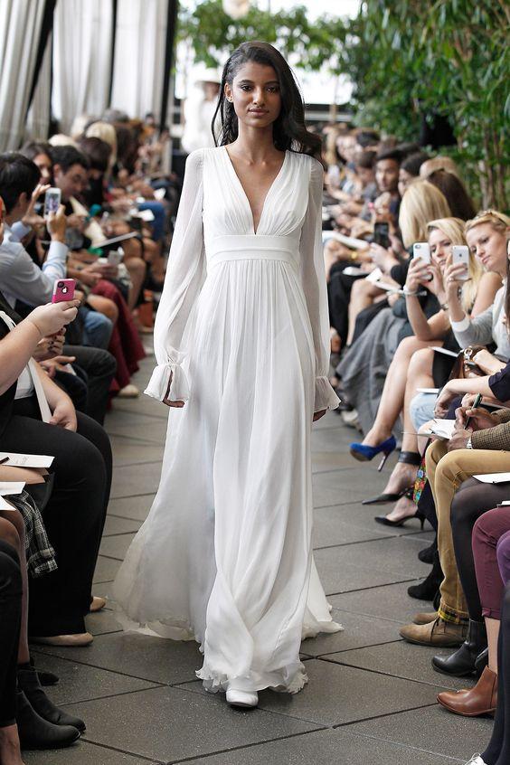 Robe de mariée Aliocha , Automne Hiver 2015 , New York , Delphine Manivet