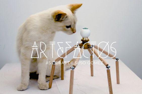 Artefactos   Inauguración de la página web de la obra de Suso Gómez.   www.susogomez.com