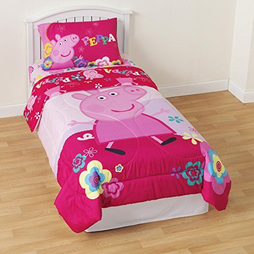 Peppa Pig Queen Bed Sheets Peppa