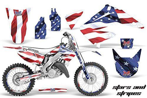 2004-2012 HONDA CRF 50 STICKER GRAPHICS KIT CRF50 LUCAS OIL WITH BACKGROUNDS