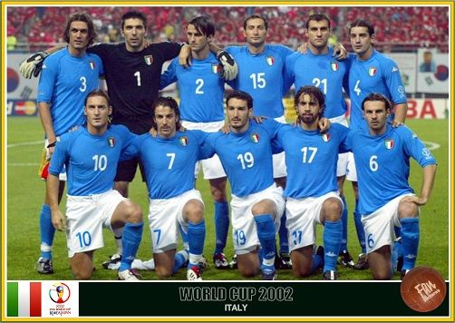 Fan Pictures 2002 Fifa World Cup South Korea Japan Italy Team In 2020 Italy Team World Cup Fifa World Cup