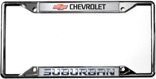 Chevrolet Suburban License Plate Frame