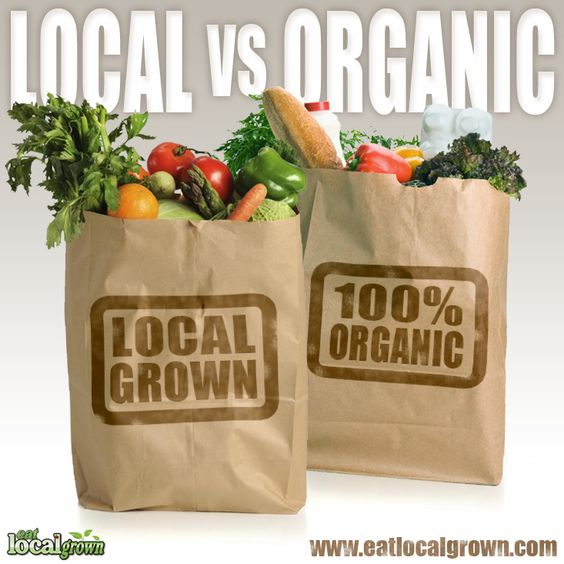 #local vs #organic?
