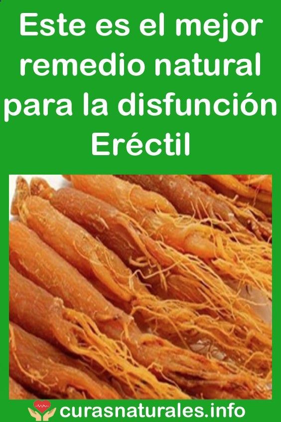 mejor remedio para la disfuncion erectil