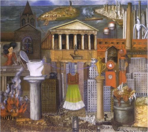 My Dress Hangs There - Frida Kahlo