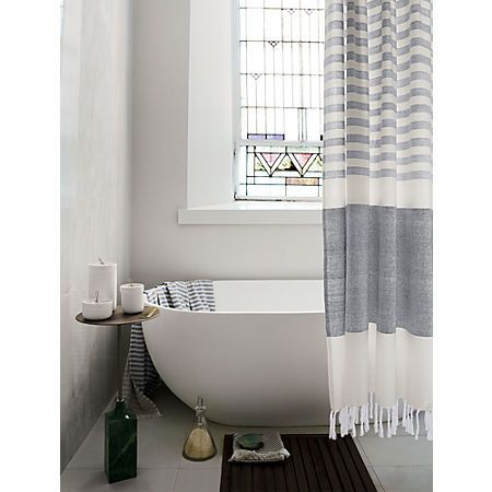 Karla Cement Shower Curtain Reviews In 2020 Bathroom Interior
