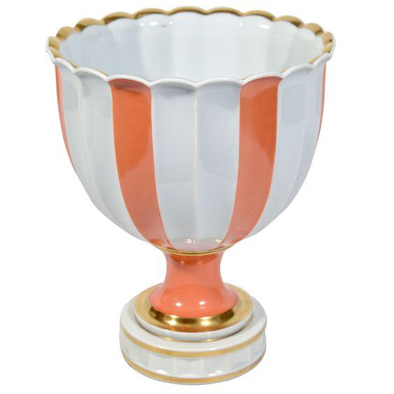 Elegant Porcelain Urn Designed by Thorkild Olssen for Royal Copenhagen