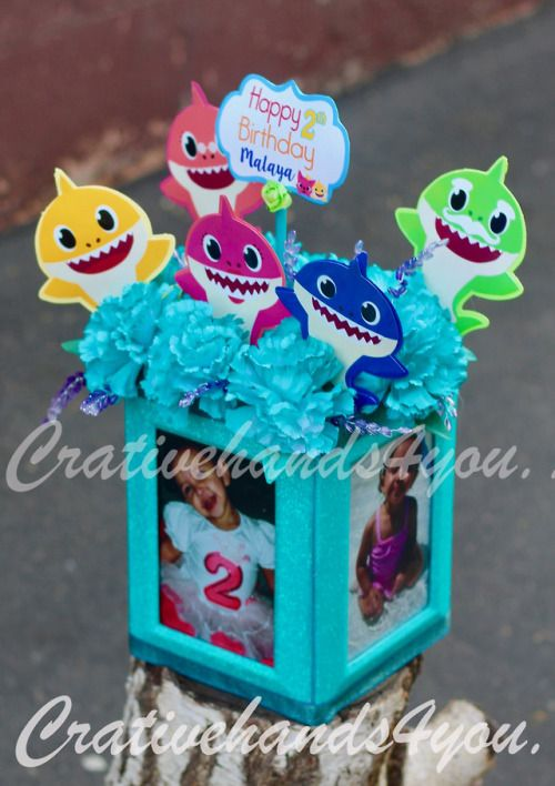 Baby Shark Centerpieces Diy Baby Boy 1st Birthday Party Shark Themed Birthday Party Baby Birthday Themes