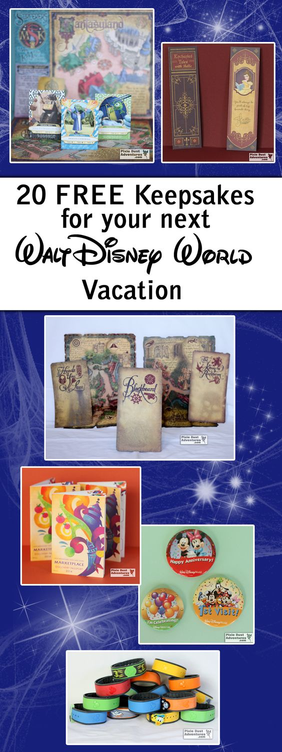 20 Free Souvenirs and Keepsakes for your next Walt Disney World vacation. Melissa - Pixie Dust Adventures