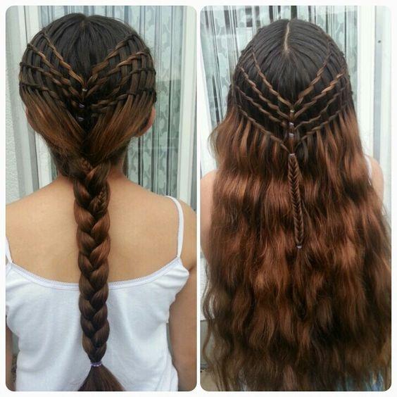 Idée coiffure elfique